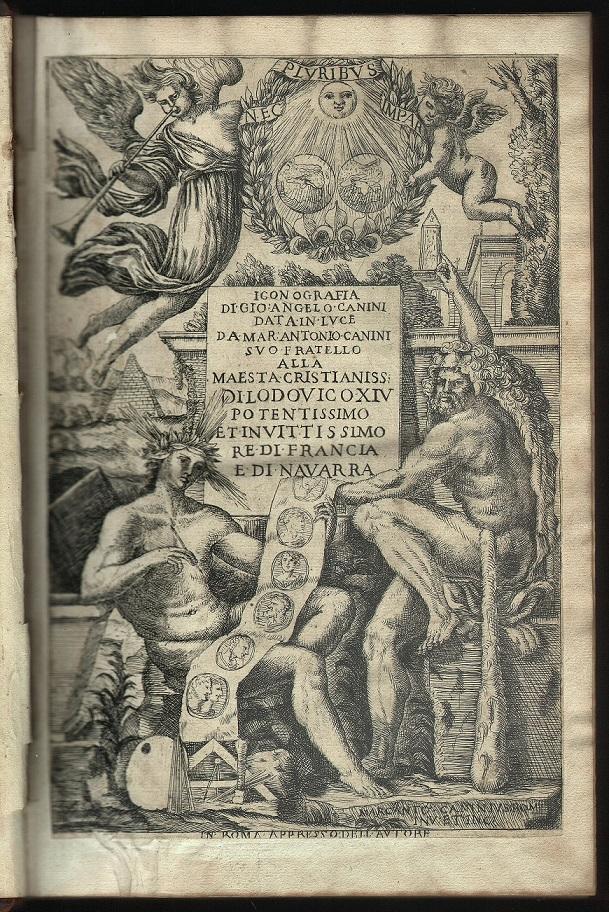 Iconografia cioè Disegni d'Imagini de Famosissimi Monarchi, Regi, Filosofi, Poeti ed Oratori