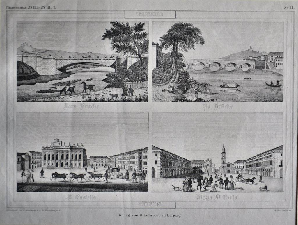Dora Bruche / Po Bruche / Il Castello / Piazza St. Carlo