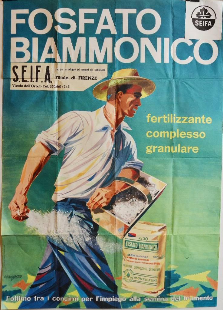 Fosfato biammonico, fertilizzante complesso granulare