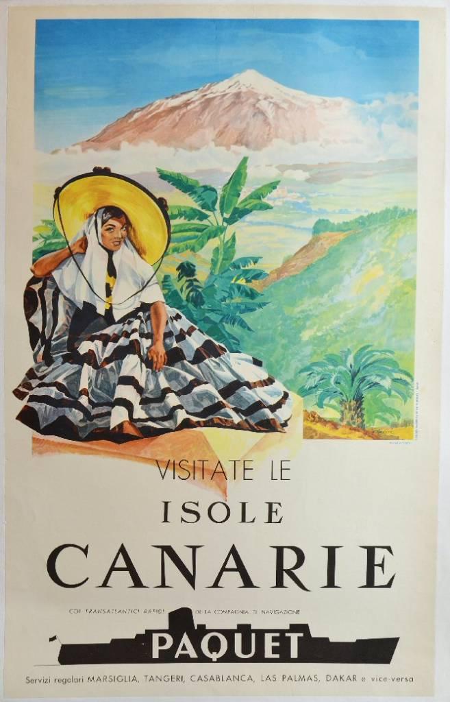 Visitate le Isole Canarie coi transatlantici della compagnia di navigazione Paquet