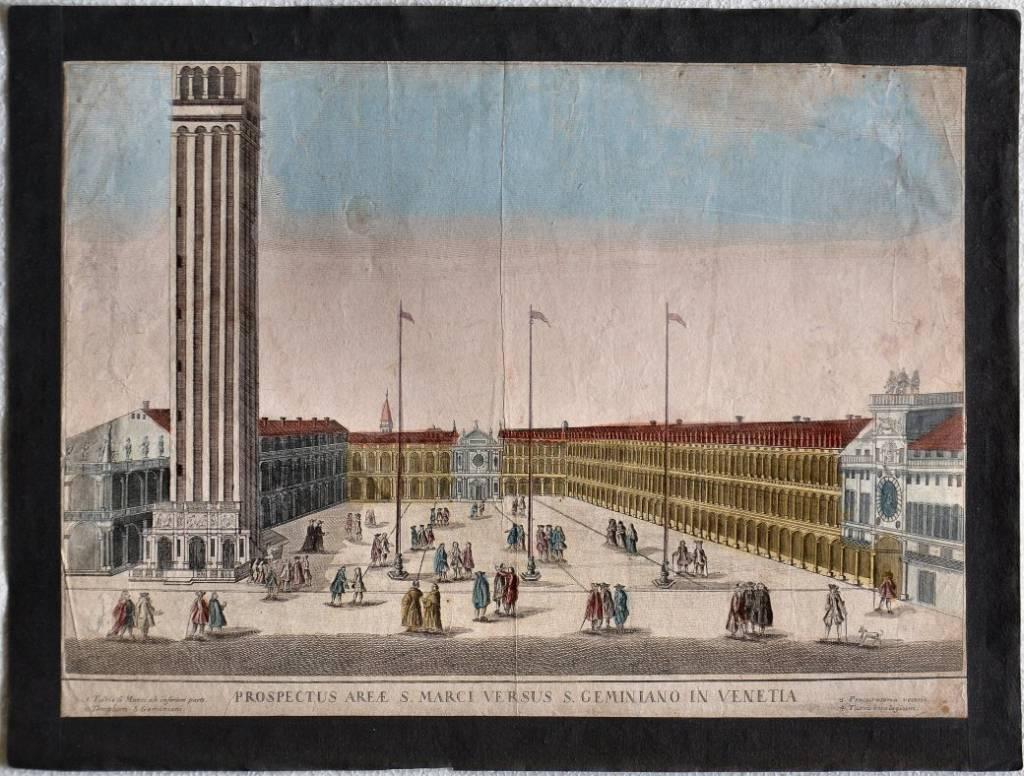 Prospectus areae S.Marci versus S.Geminiano in Venetia