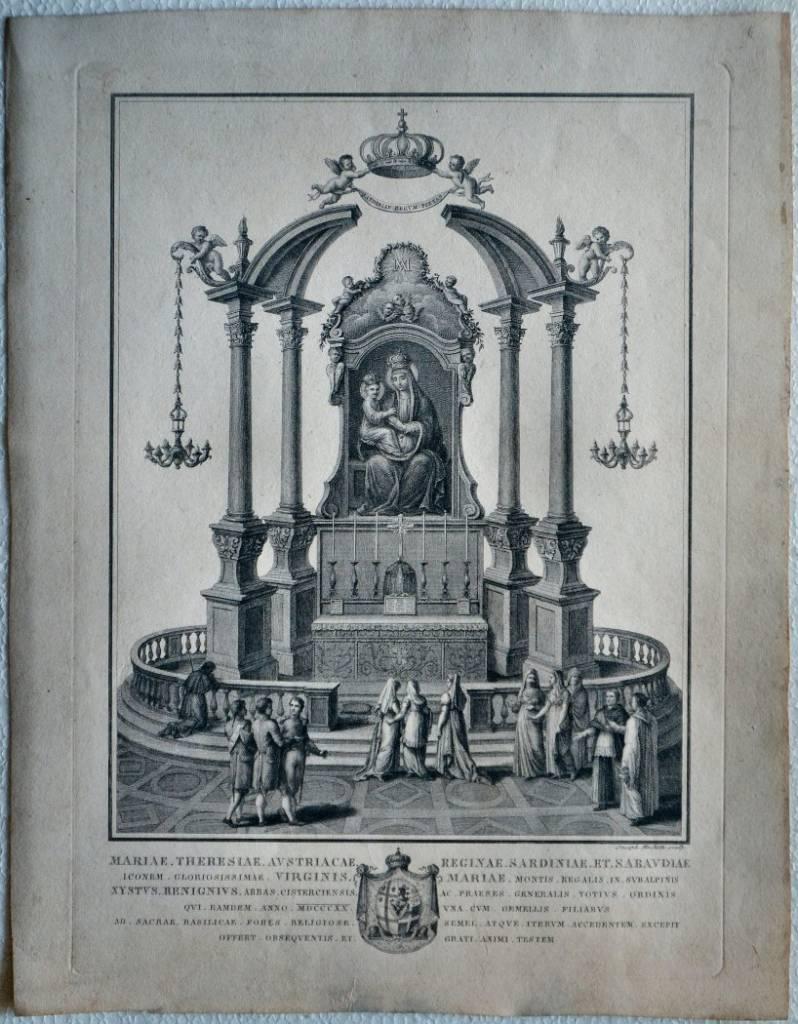 Virginis Montis Regalis in Subalpinus