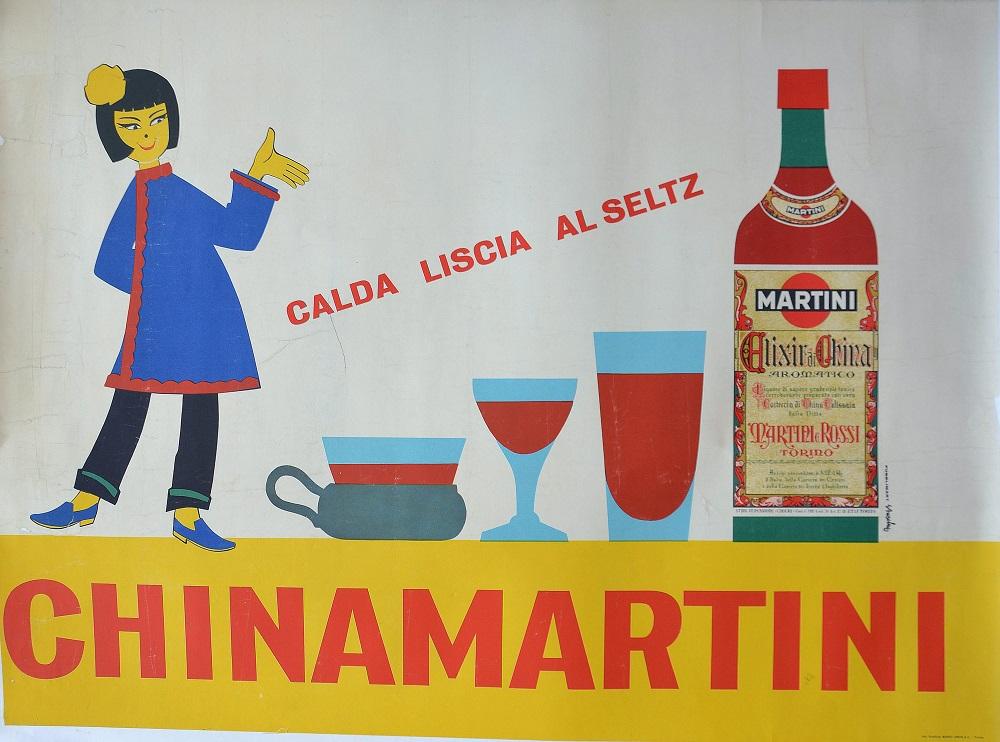 Calda, liscia al selz / Chinamartini