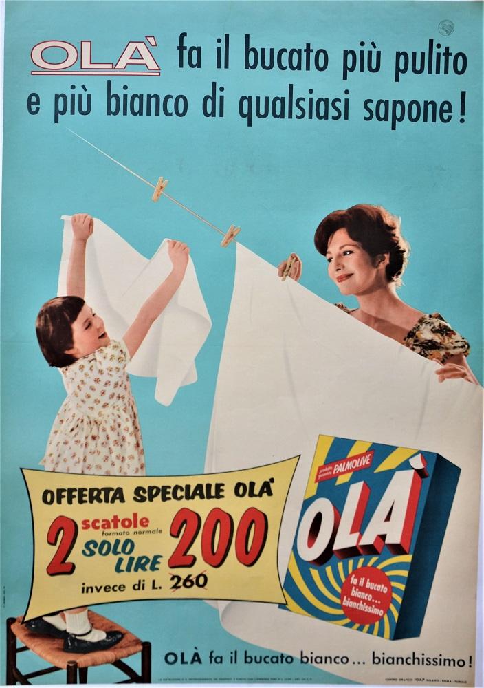 Olà fa il bucato più pulito e più bianco di qualsiasi sapone!