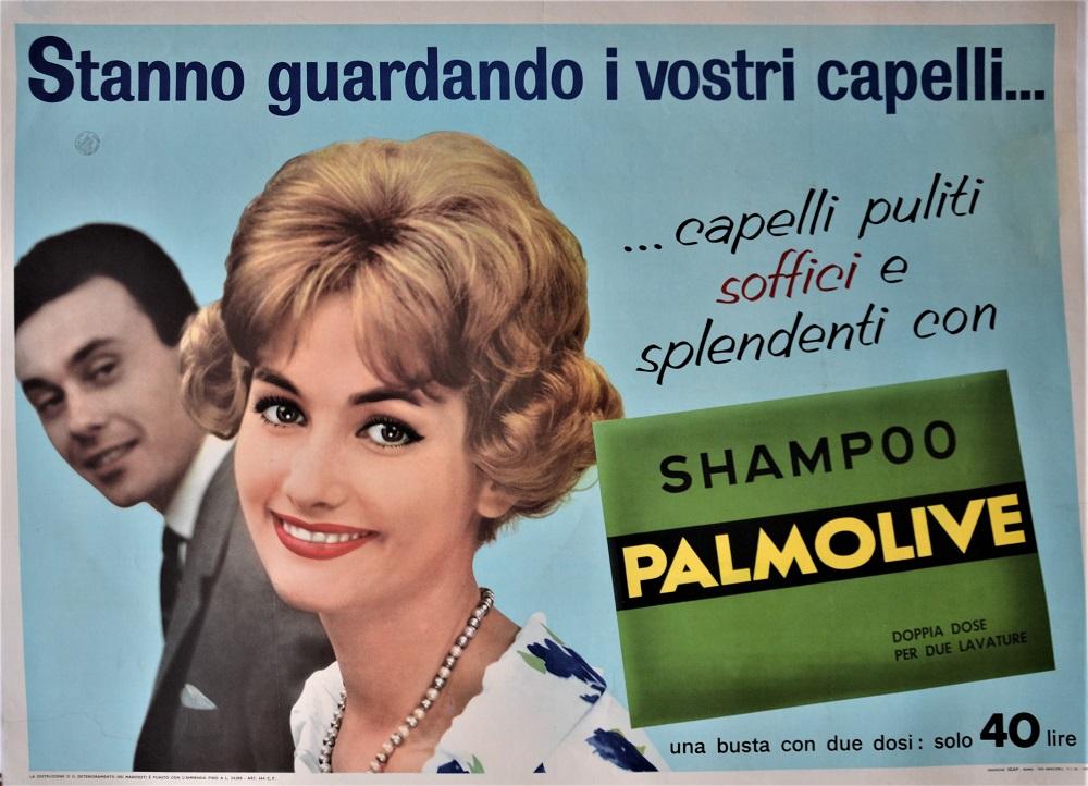 Stanno guardando i vostri capelli… Palmolive