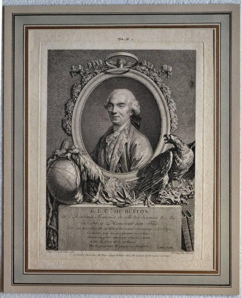 G.L. C.te de Buffon de l'Academie Francaise de celle des sciences…