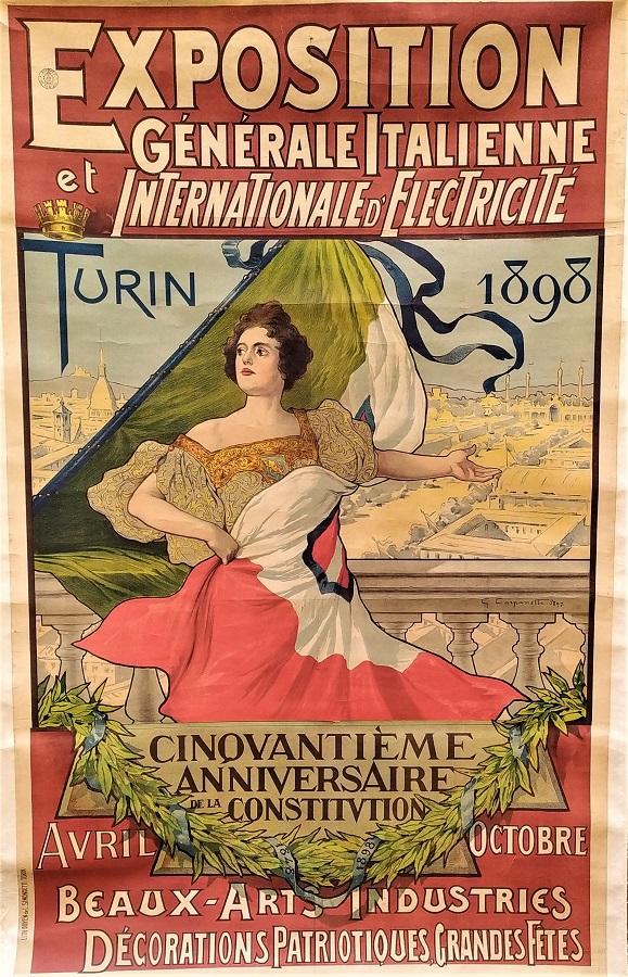 Exposition generale italienne et internationale d'electricité… Cinquantième anniversaire d